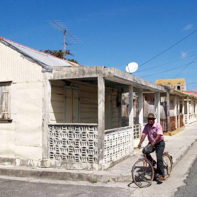 Guadeloupe. Mit dem Fahrrad unterwegs