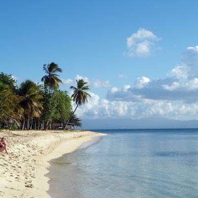 Guadeloupe. Lieblingsstrand