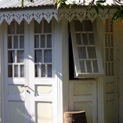 Réunion. Kreolisches Haus